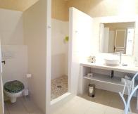 salle de douche nature